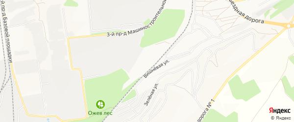 СТ Казацкий Лог на карте Старого Оскола с номерами домов