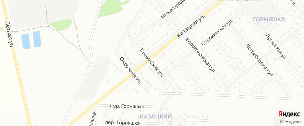 Тихвинская улица на карте Старого Оскола с номерами домов