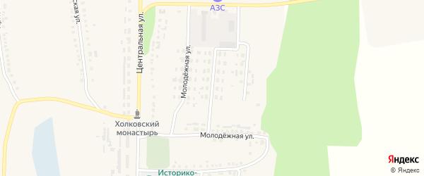 Улица 70 лет Октября на карте Ездочного села с номерами домов