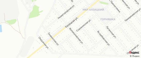Волоконовская улица на карте Старого Оскола с номерами домов