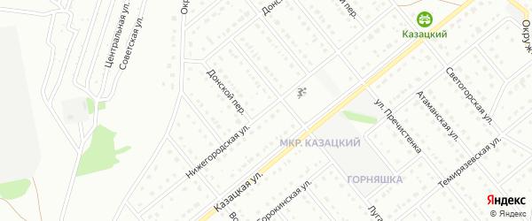 Нижегородская улица на карте Старого Оскола с номерами домов