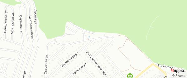Окружная улица на карте Старого Оскола с номерами домов