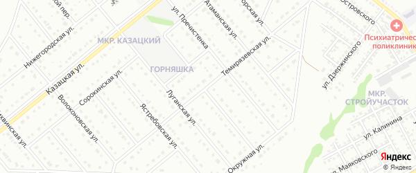 Темирязевская улица на карте Старого Оскола с номерами домов
