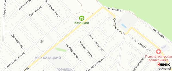 Богдановская улица на карте Старого Оскола с номерами домов
