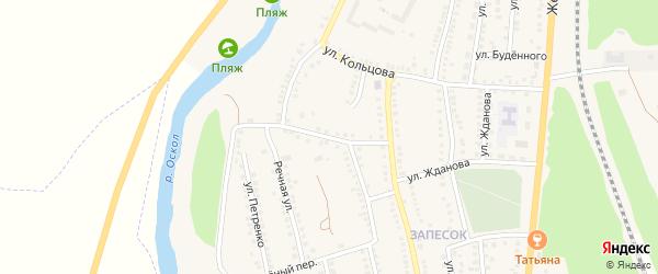 Улица 9 Января на карте поселка Чернянка с номерами домов