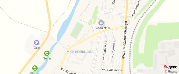 Улица Кольцова на карте поселка Чернянка с номерами домов