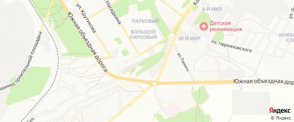 ГСК Казацкий лог на карте Старого Оскола с номерами домов