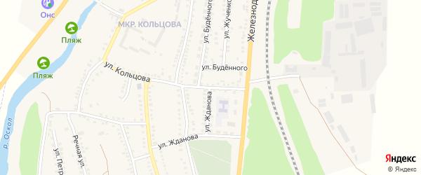 Улица Урицкого на карте поселка Чернянка с номерами домов