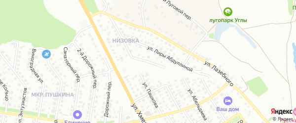 Российская улица на карте Старого Оскола с номерами домов