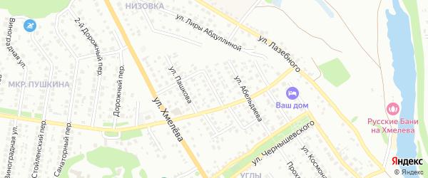 Улица Майсюка на карте Старого Оскола с номерами домов