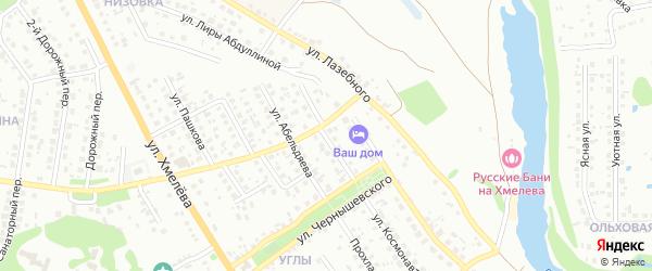 Донецкая улица на карте Старого Оскола с номерами домов
