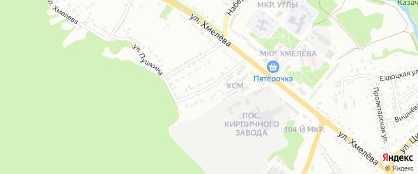 Улица Белинского на карте Старого Оскола с номерами домов