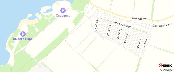 СТ Цементник 2С на карте Старооскольского района с номерами домов