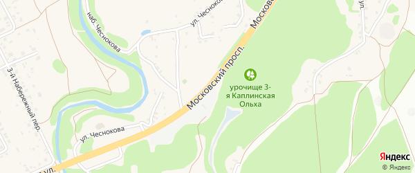 Дорога Короча-Губкин-Горшечное на карте Старого Оскола с номерами домов