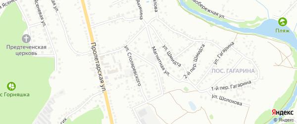 Провинциальная улица на карте Старого Оскола с номерами домов