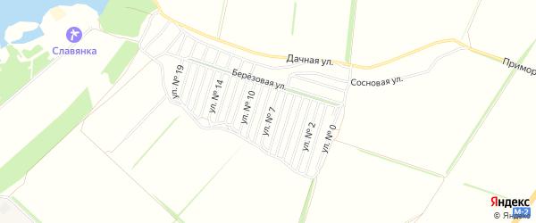 СТ Цементник 2 на карте Старооскольского района с номерами домов