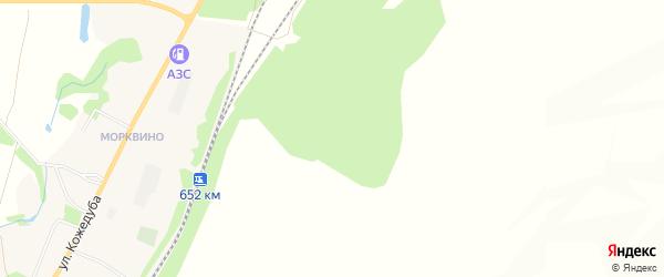 Карта Огибного села в Белгородской области с улицами и номерами домов