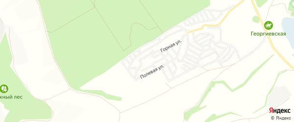СТ Хрустальный родник на карте Старооскольского района с номерами домов