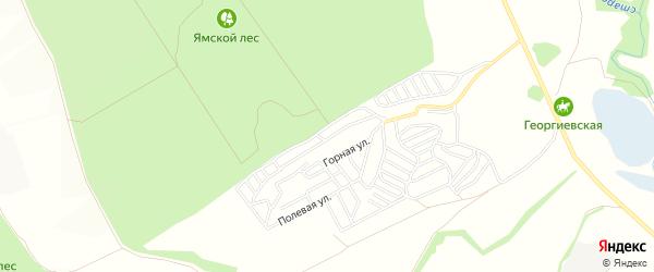 СТ Машиностроитель на карте Старооскольского района с номерами домов