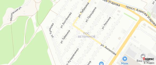 Улица Прокудина на карте Старого Оскола с номерами домов