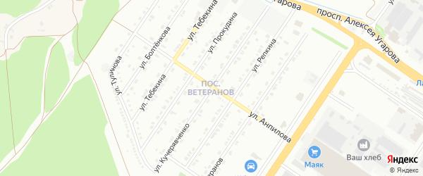 Улица Кучерявченко на карте Старого Оскола с номерами домов