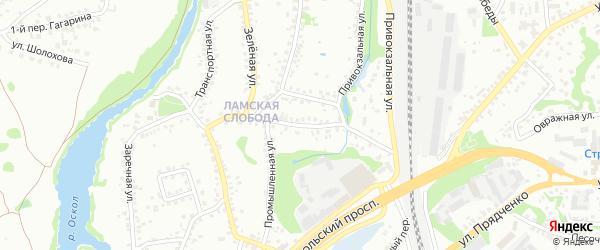 Гражданская улица на карте Старого Оскола с номерами домов