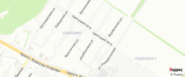 Черемуховая улица на карте Старого Оскола с номерами домов