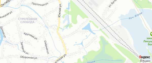 Красногвардейская улица на карте Старого Оскола с номерами домов