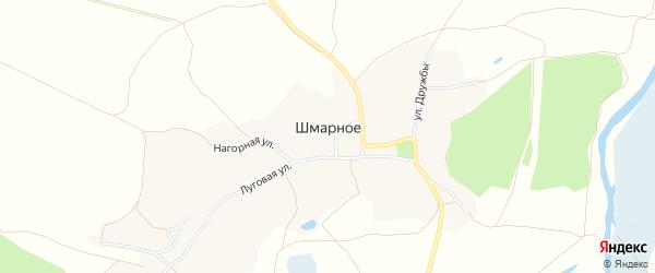 Карта Шмарного села в Белгородской области с улицами и номерами домов