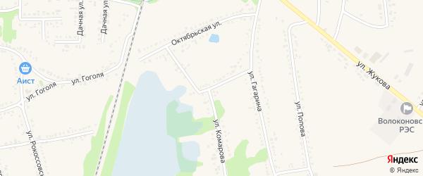 Улица Григорьева на карте поселка Волоконовки с номерами домов