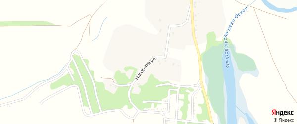 Нагорная улица на карте села Великого Перевоза с номерами домов