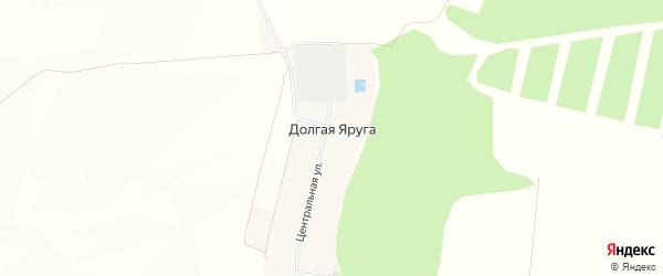Карта поселка Долгой Яруги в Белгородской области с улицами и номерами домов