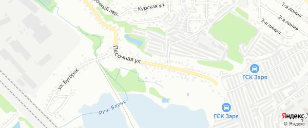 Песочная улица на карте Старого Оскола с номерами домов