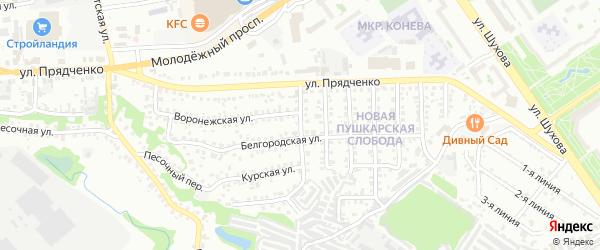 Улица Правды на карте Старого Оскола с номерами домов