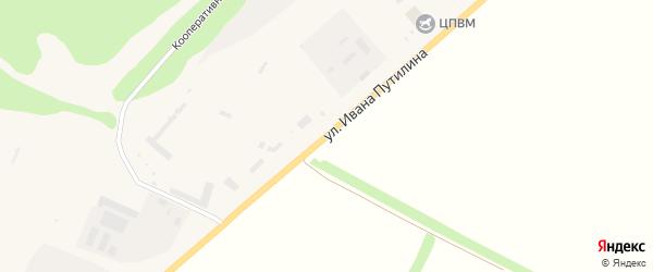 Улица ДРП на карте Нового Оскола с номерами домов