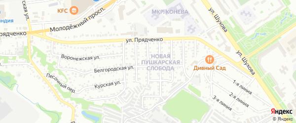 Трудовая улица на карте Старого Оскола с номерами домов