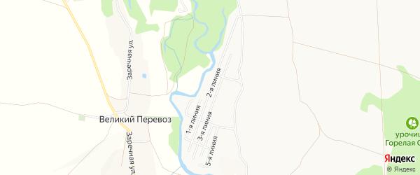СТ Ивушка на карте Старого Оскола с номерами домов