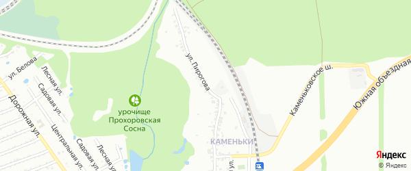 Улица Пирогова на карте Старого Оскола с номерами домов