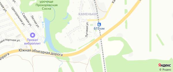 Луговая улица на карте Старого Оскола с номерами домов
