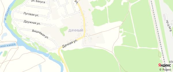 Дачный переулок на карте села Сорокино с номерами домов