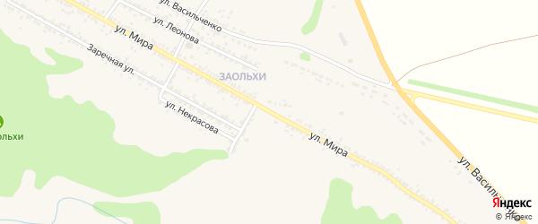 Улица Мира на карте Нового Оскола с номерами домов