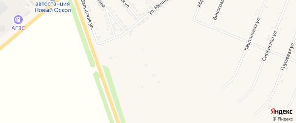 Абрикосовая улица на карте Нового Оскола с номерами домов