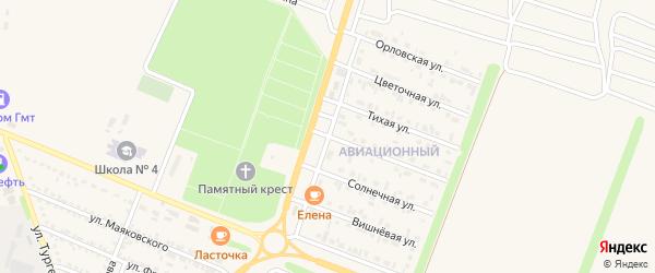 Магистральная улица на карте Нового Оскола с номерами домов