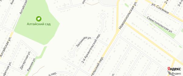 Заломная улица на карте Старого Оскола с номерами домов