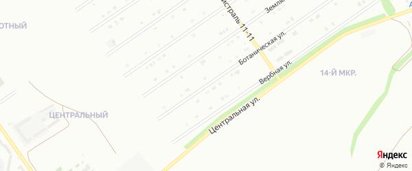 Ботаническая улица на карте Старого Оскола с номерами домов
