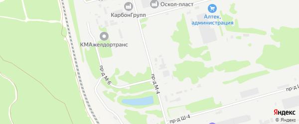 Площадка Монтажная проезд М-4 на карте станции Котла промузла с номерами домов