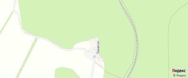 Тихая улица на карте поселка Набокино с номерами домов
