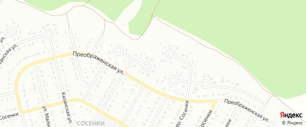 6-й Преображенский переулок на карте Старого Оскола с номерами домов