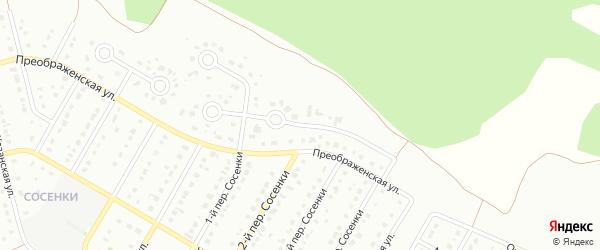 7-й Преображенский переулок на карте Старого Оскола с номерами домов