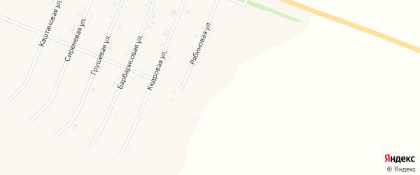 Ольховая улица на карте Нового Оскола с номерами домов